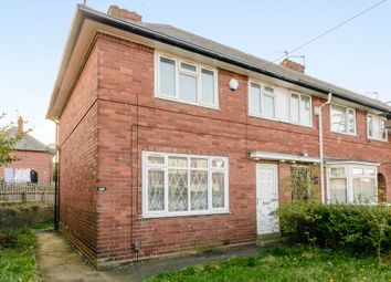 Thumbnail 3 bedroom end terrace house for sale in St. Wilfrids Avenue, Leeds
