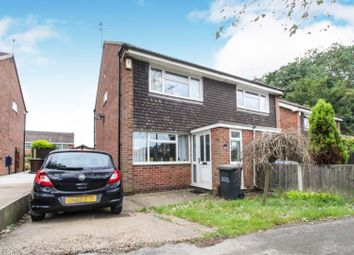 Thumbnail 2 bed semi-detached house for sale in Ladybank Road, Mickleover, Derby