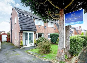Thumbnail 3 bed semi-detached house for sale in Yew Tree Avenue, Hazel Grove, Stockport
