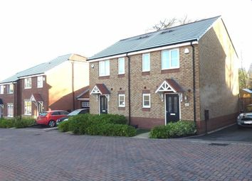 Thumbnail 2 bed semi-detached house for sale in Coomer Court, Newcastle-Under-Lyme