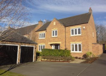 Thumbnail 4 bedroom detached house for sale in Kinross Road, Greylees, Sleaford