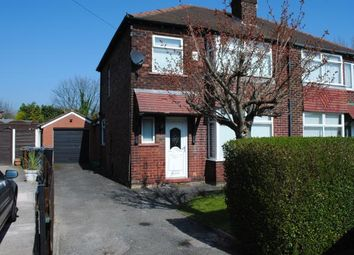 Thumbnail 3 bed semi-detached house for sale in Adswood Old Hall Road, Cheadle Hulme, Cheadle, Greater Manchester