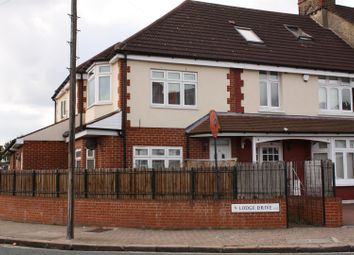 Thumbnail 1 bed flat to rent in Lodge Drive, Palmers Green, London