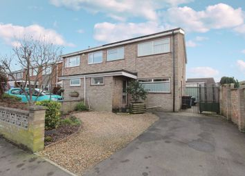 Thumbnail 3 bed semi-detached house for sale in Silver Street, Great Barford