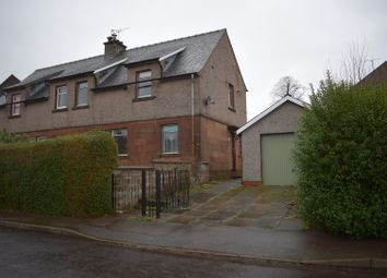 Thumbnail 4 bed semi-detached house for sale in Lincluden Road, Dumfries