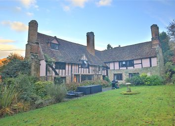Thumbnail 9 bed detached house for sale in Hosey Common Road, Westerham