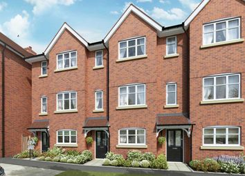 "Thumbnail 4 bed terraced house for sale in ""The Halton"" at The Ridgeway, Enfield"