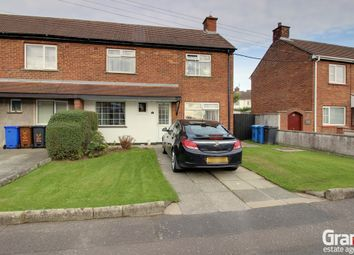 Thumbnail 3 bedroom end terrace house for sale in Culmore Avenue, Newtownards