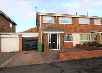 Thumbnail 3 bed semi-detached house to rent in Druridge Drive, Blyth
