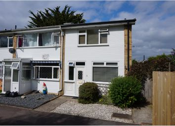 Thumbnail 3 bed end terrace house for sale in The Wicket, Hythe, Southampton
