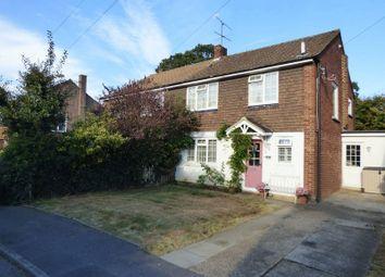 Thumbnail 3 bed semi-detached house for sale in Longmeadow, Bookham, Leatherhead