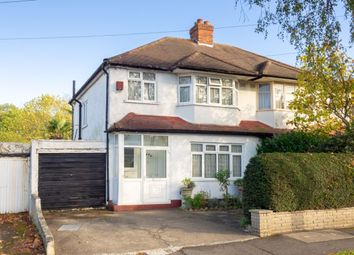 Thumbnail 3 bed semi-detached house for sale in Fieldsend Road, Cheam, Sutton