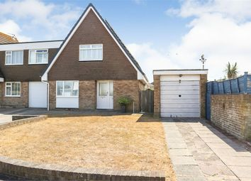 Thumbnail 3 bed semi-detached house for sale in Jellicoe Close, Eastbourne, East Sussex
