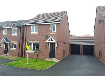 Thumbnail 3 bed detached house for sale in Woodvine Road, Shrewsbury