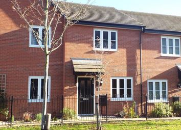 Thumbnail 2 bed terraced house for sale in Coleridge Way, Oakham, Rutland, Leicestershire