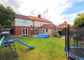 Thumbnail 5 bed semi-detached house for sale in Church Close, Antingham, North Walsham