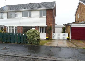 3 bed semi-detached house to rent in Park Avenue, Sherburn In Elmet, Leeds LS25