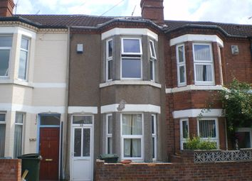 Thumbnail 3 bedroom terraced house to rent in Somerset Road, Radford, Coventry