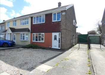 Thumbnail 3 bed semi-detached house for sale in Ajax Close, Laceby Acres, Grimsby