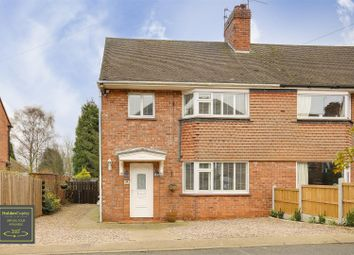 Thumbnail 3 bed semi-detached house for sale in Long Meadow Hill, Lowdham, Nottinghamshire