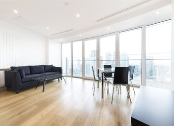 Thumbnail 1 bed flat for sale in Arena Tower, 25 Crossharbour Plaza, Canary Wharf, London