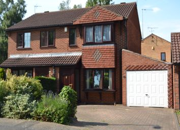 Thumbnail 2 bed semi-detached house to rent in Wedgewood Road, Lincoln