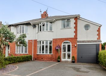 Thumbnail 4 bed semi-detached house for sale in Clifton Drive, Penwortham, Preston, Lancashire