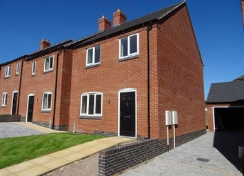Thumbnail 3 bed detached house for sale in Alan Garlic Way, Whitwick, Leicestershire