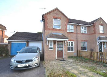 Thumbnail 3 bedroom semi-detached house for sale in Kirkstall Place, Oldbrook, Milton Keynes