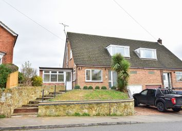 Thumbnail 3 bed semi-detached house for sale in Rock Hill, Rothwell, Kettering