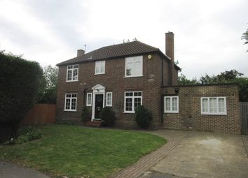 Thumbnail 4 bed detached house to rent in The Paddock, Datchet, Slough