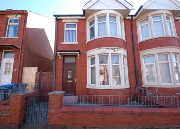 Thumbnail 3 bed semi-detached house for sale in Rose Avenue, Blackpool