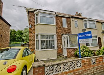 Thumbnail 3 bedroom end terrace house for sale in Downside Road, Acklam, Middlesbrough