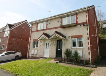 Thumbnail 2 bed semi-detached house for sale in Border Brook Lane, Worsley, Manchester