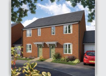 "Thumbnail 3 bed semi-detached house for sale in ""The Beardsley"" at West Hill, Wincanton"