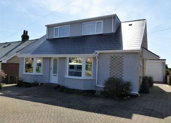Thumbnail 4 bed detached bungalow for sale in Camp Road, Weymouth, Dorset