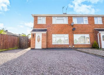 Thumbnail 3 bed semi-detached house for sale in Farriers Way, East Goscote, Leicester