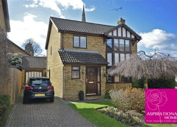 Thumbnail 4 bed detached house for sale in Dovecote Close, Raunds, Northamptonshire