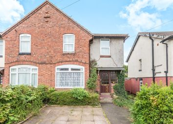 Thumbnail 3 bedroom semi-detached house for sale in Greenfield Road, Bearwood, Smethwick