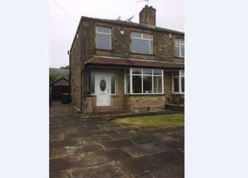 Thumbnail 3 bed semi-detached house for sale in Westfield Lane, Bradford, West Yorkshire