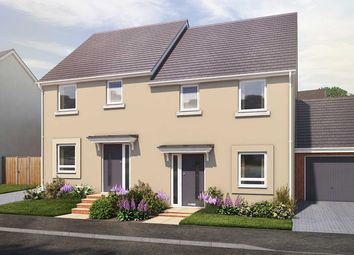 "Thumbnail 3 bed semi-detached house for sale in ""The Benham"" at Vicarage Hill, Kingsteignton, Newton Abbot"