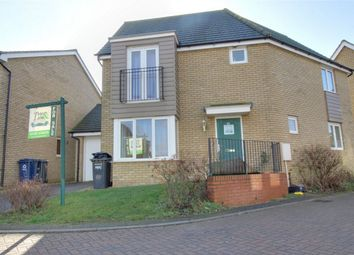 Thumbnail 3 bed detached house for sale in Cromwell Drive, Huntingdon