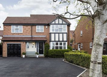 Thumbnail 4 bed detached house for sale in Tudor Close, Farsley, Pudsey