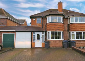 3 bed semi-detached house for sale in Queens Road, Yardley, Birmingham B26