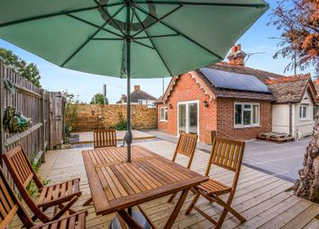 Thumbnail 3 bed detached bungalow for sale in Ewell Court Lodge, Kingston Road, Ewell