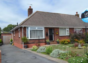 Thumbnail 2 bed semi-detached bungalow for sale in Hill Drive, Exmouth