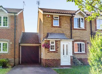 Thumbnail 3 bed semi-detached house for sale in Bird Haven Close, Banbury Road, Warwick, Warwickshire