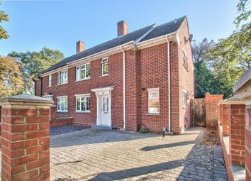 Thumbnail 3 bed semi-detached house for sale in Bushmead Avenue, Bedford