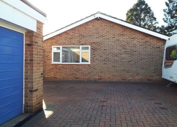 Thumbnail 2 bed bungalow to rent in Castle Donington, Derby