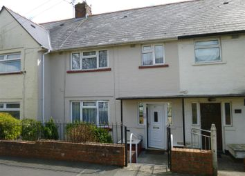 Thumbnail 3 bed terraced house to rent in Devon Avenue, Barry
